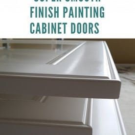 The Best Self Leveling Cabinet Paint Options Painting Cabinets Painting Oak Cabinets Painting Cabinet Doors