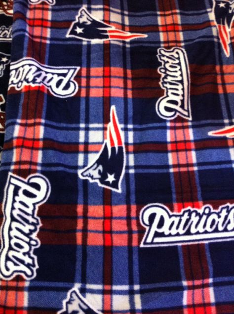 2543384f9 Hand Tied Fleece New England Patriots Blanket Throw by AbbieJude ...