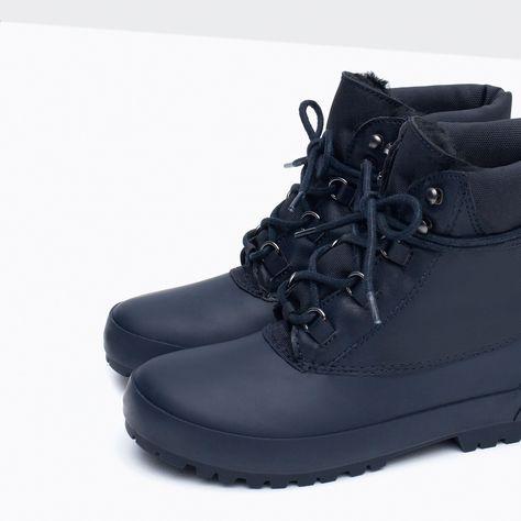 b12793eeba563 OCIEPLANE TRZEWIKI TREKKINGOWE - Buty - Niemowlę chłopiec | 3 miesiące - 3  lata - DZIECI | ZARA Polska | Chce takie... / Want It | Shoes, Boots i  Hiking ...