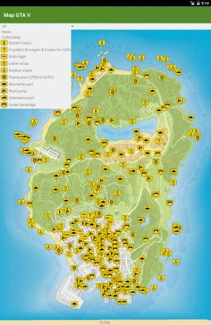Gta 5 Mapa Pokladu Mapy Sveta Mapa Grand Theft Auto
