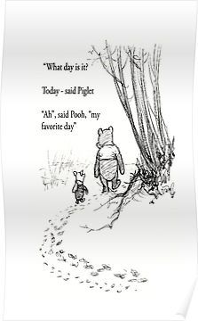 Winnie The Pooh Quotes To Fill Your Heart With Joy Poster