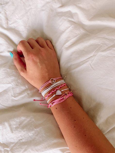 Preppy Bracelets, Beach Bracelets, Summer Bracelets, Cute Bracelets, Braided Bracelets, Pura Vida Bracelets, Cute Jewelry, Jewelry Accessories, Ear Jewelry