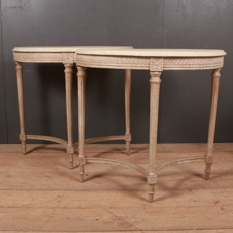 Pair Of Late 19th C Swedish Console Tables 1890 Reference