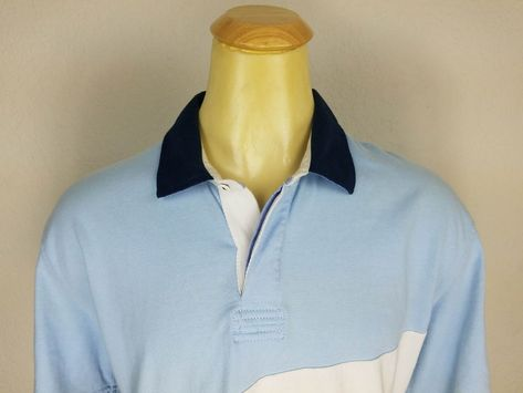 Cotton Traders Mock Shirt Cardigan Ash Blue 2XL TD087 HH 01