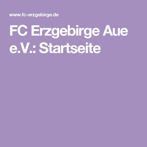 FC Erzgebirge Aue e.V.: Startseite