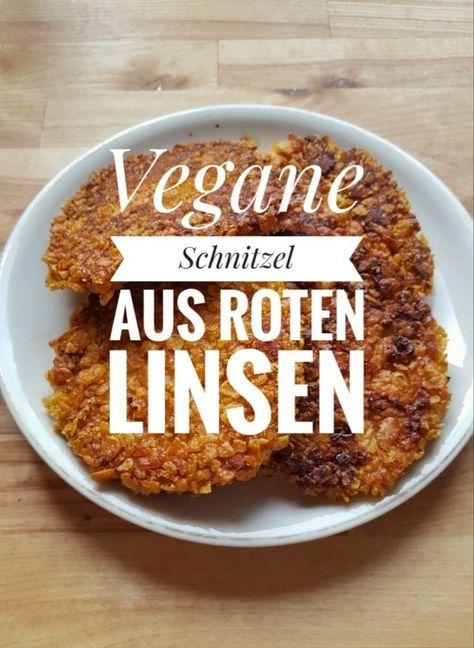 Unser Rezept für vegane Linsenschnitzel aus roten Linsen ist super schnell und einfach. Die veganen Schnitzel schmecken Kindern & Gästen und sogar kalt.