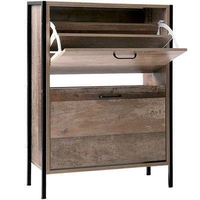Dwellhome 12 Paar Holz Schuhregal Schrank Bewertungen In 2020 Wooden Shoe Cabinet Wooden Shoe Racks Cabinet