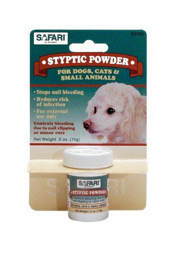 Keep This Or Something Similar In Your Doggie Medicine Cabinet Next To The Vet Wrap If You Trim Yo Dog Grooming Supplies Clipping Dog Nails First Aid For Dogs