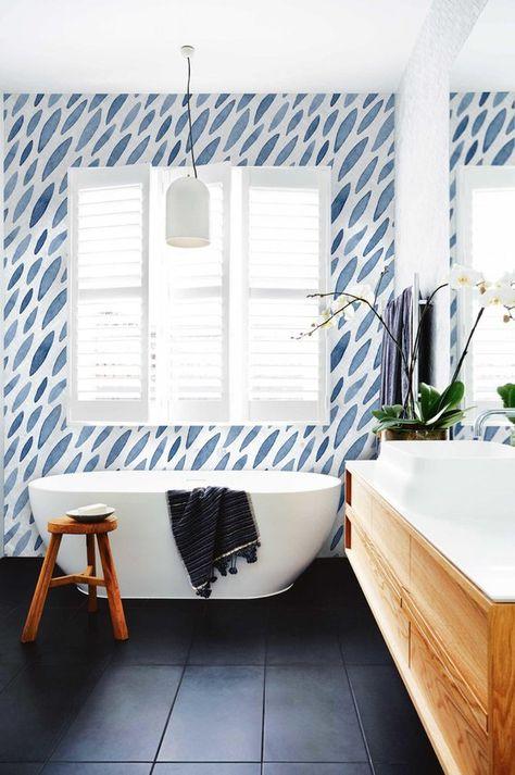 Atrament Removable Wallpaper Traditional White Print Wall Mural Self Adhesive Wall Decal Temporary Peel And Stick 136 Bathroom Interior Bathroom Tile Designs Bathroom Floor Tiles