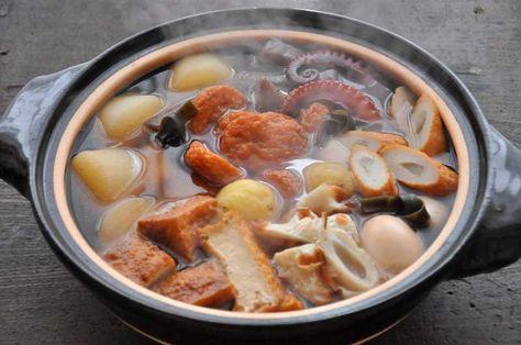 いちばん丁寧な和食レシピサイト、白ごはん.comの『おでんの作り方』を紹介するレシピページです。下ごしらえを丁寧にやったら、あとは具材をお風呂に入れるようにコトコト弱火で炊いてください!写真付きで「おでん」の作り方を詳しく紹介します。