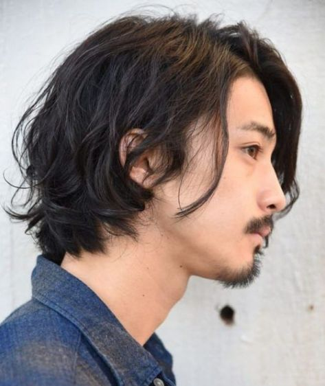 Japanese Men Hairstyle, Japanese Short Hair, Japanese Haircut, Asian Men Long Hair, Japanese Hairstyles, Japanese Boy, Medium Long Hair, Long Hair Cuts, Medium Hair Styles