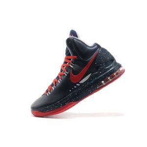 Buy Nike KD 5 V Navy Blue Red 2013 Mens Shoe |++|Sale