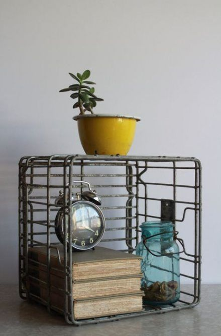 46 Ideas For Antique Milk Crate Ideas Vintage Metal Vintage