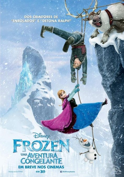 Collection Of Brand New International 'Frozen' Posters! | Rotoscopers