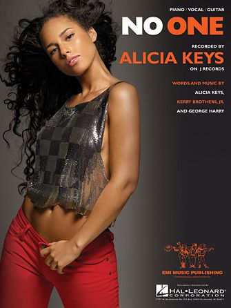 No One Alicia Keys Easy Piano Sheet Music Sheet Music