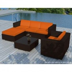 Aménagez un vrai espace détente avec le salon de jardin 5 ...