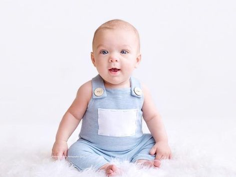Lovely Newborn Baby Photography Prop Button Overalls Pants Photo Shoot Romper Outfit for 0-1 Years