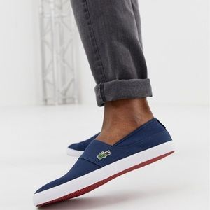 Lacoste Mens Marice Canvas Loafer