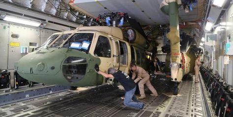 Jordania recibe tres helicópteros UH-60 Blackhawk como parte de un gran paquete de ayuda militar de Estados Unidos