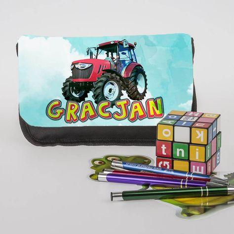 Piornik Personalizowany Z Grafika Traktor W Giftshop24 Na Etsy Etsy School Album