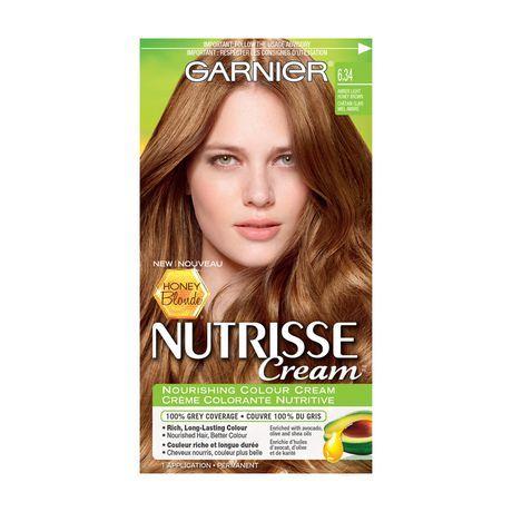 Garnier Nutrisse Cream Honey Blonde 6 34 Light Honey Brown 6 34