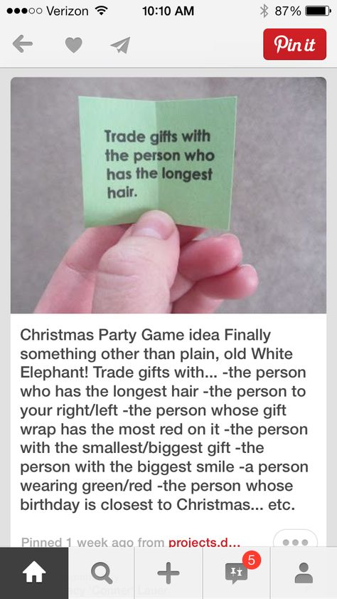 Great idea instead of a Yankee swap