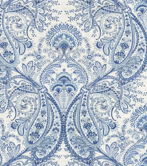 Home Decor Print Fabric- Swavelle Millcreek Melodie Cliffside Frost For chair decorating
