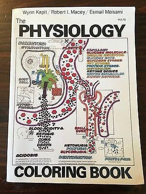 The Physiology Coloring Book Inspirational The Physiology Coloring Book Esmail Meisami Wynn Kapit Robert I Mac Vintage Coloring Books Coloring Books Physiology
