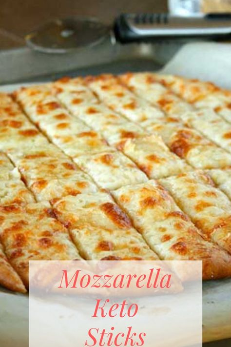 Mozzarella keto sticks low carb keto diet recipe