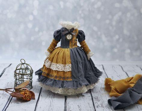 Платье для куклы Блайз, одежда для кукол. Blythe dress