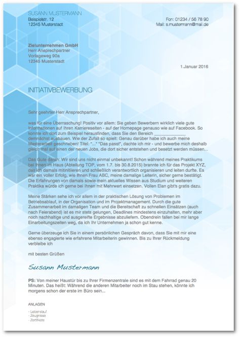 Ratgeber Initiativbewerbung Detaillierte Tipps Zu Umfang Und Aufbau Gratis Bewerbungsmuster Pdf X2f Wor Bewerbung Schreiben Bewerbung Bewerbungsschreiben