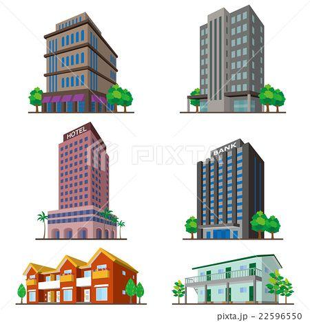 建物 立体図形 建物