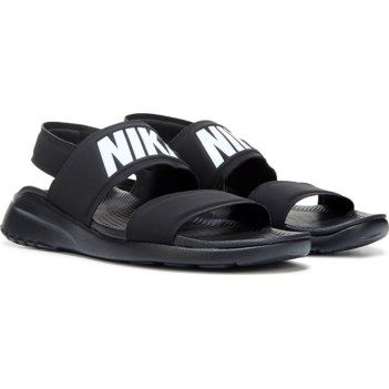 b333c8cc355 Wmns Nike Tanjun Sandal Black White Womens Fashion Sandals Slide 882694-001