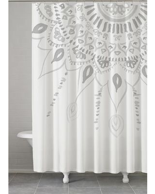 Layer Up Your Bed For This Designer Look Medallion Shower