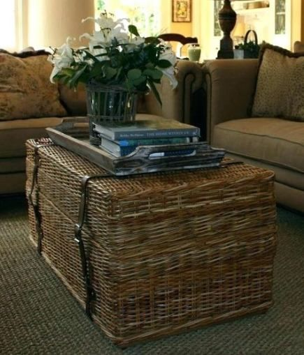 26 Ideas House Interior Warm Coffee Tables Wicker Coffee Table