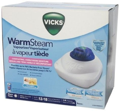 Warm Vaporizer 1.5 Gal. Steam Tabletop Humidifier