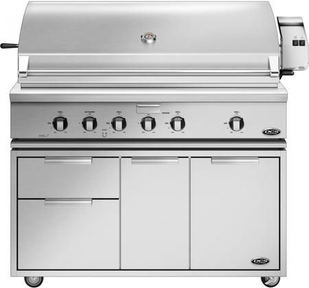 Freestanding Grill With Bh1 48r N 48 Natural Gas Grill On Cad1 48 Freestanding Gas Grill Propane Grill Natural Gas Grill
