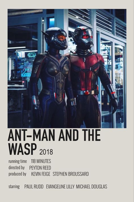 ant-man and the wasp ꘩ (2018) - polaroid poster