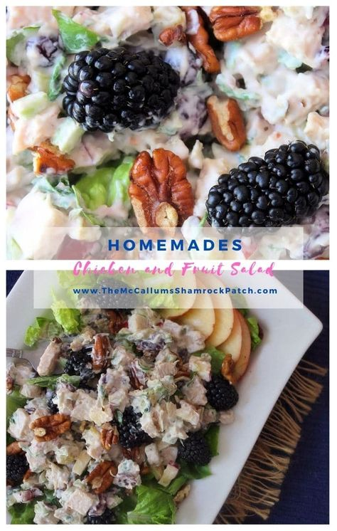 Chicken Salad with Fruit | The McCallum's Shamrock Patch
