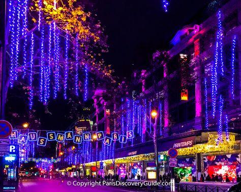 Paris Christmas Lights 2020 10 Best Locations Christmas In Paris Christmas Lights
