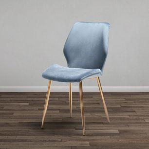 Stuhl In Graublau Online Bestellen Stuhle Esszimmerstuhl Graublau