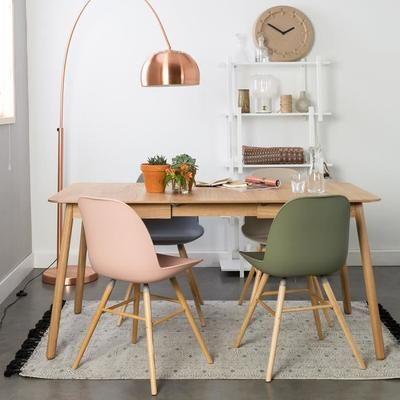Extensible 162x80cm Table 120 Glimps Zuiver Manger Bois Couleur À yvYm7bf6gI