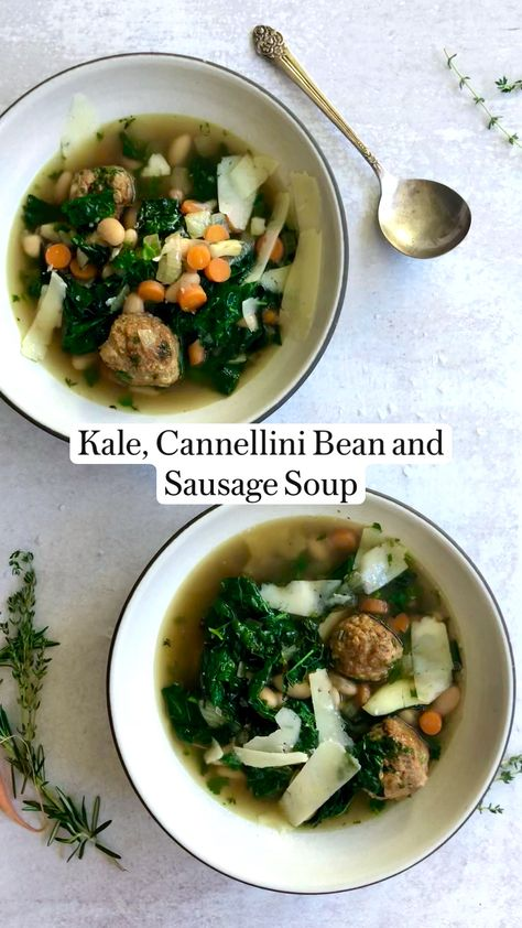Peter Som's Kale, Cannellini Bean and Sausage Soup