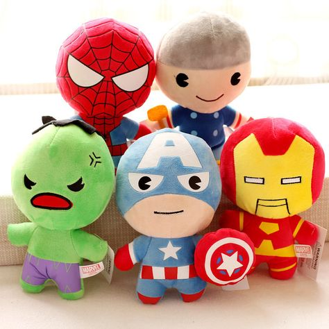 "20cm 8/"" New Super Hero Hulk Avengers Figure Soft Plush Doll Stuffed Toy Gift"