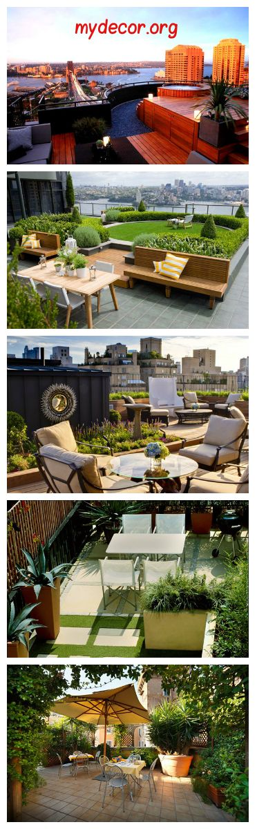 15 Enchanting and Whimsical Roof Garden Landscape Designs Who says ...