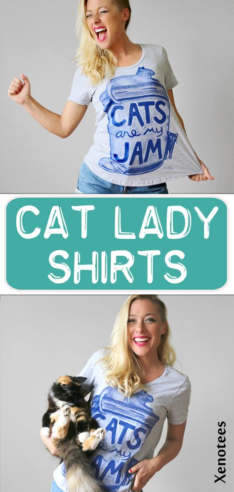 Gift for Cat Mom Or Dad graceful shop Cat T Shirt Retro Kitten Shirt