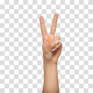 V Sign Digit Finger Gesture Upper Limb Shows Transparent Background Png Clipart Hand Emoji Hand Sticker Clip Art