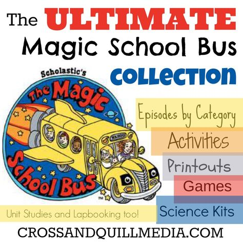 Using Magic School Bus for science - lots of links, printables, games, videos, etc.