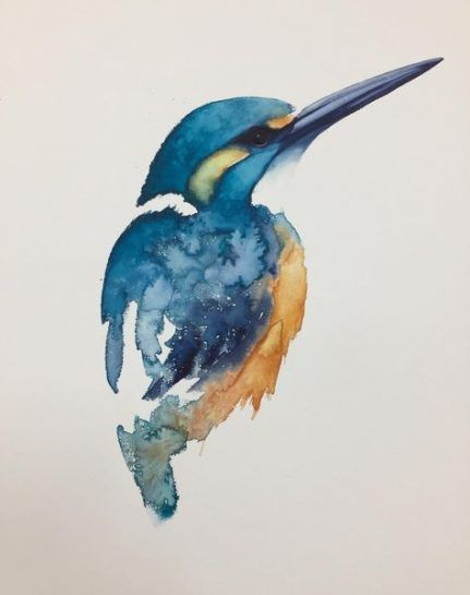 24 Ideas Painting Watercolor Pencil For 2019 Watercolor Pencil Art Bird Watercolor Paintings Watercolor Bird