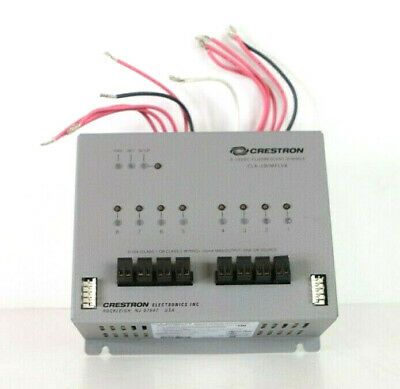 Ad Ebay Link Crestron Clx 2dimflv8 8 Channel 0 10v Fluorescent Dimmer Module 2 Feeds A232 Home Automation Led Drivers Things To Sell